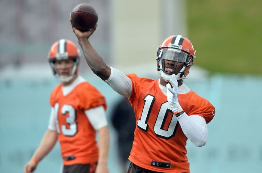Cleveland Browns: No cause for concern with Robert Griffin III
