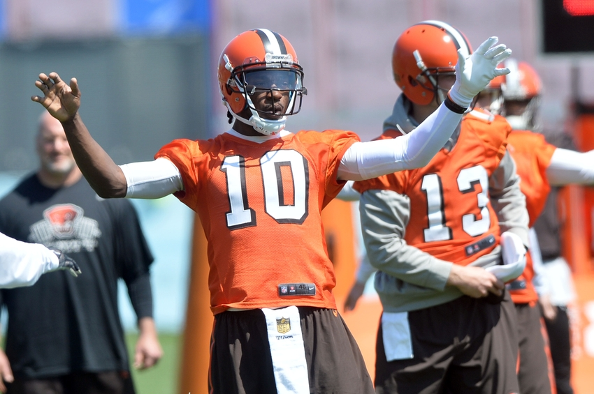 Cleveland Browns: RG3 has chance to truly end The Jersey