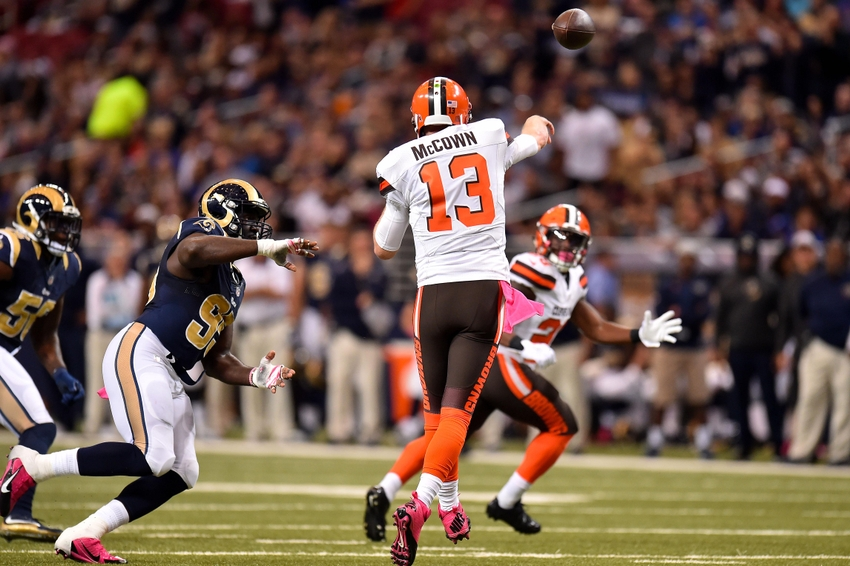 d6c6bdc5 Cleveland Browns: Josh McCown to start if healthy