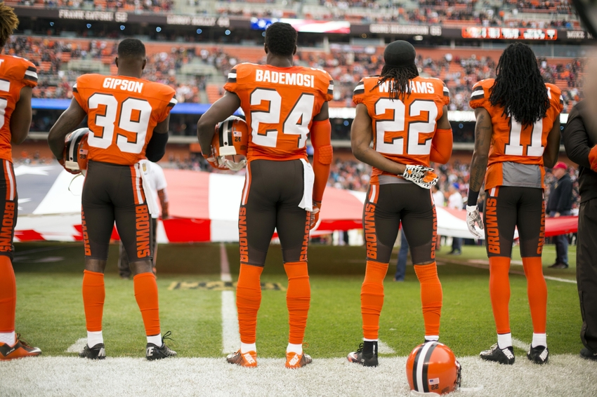 11 Browns Cleveland Number Number 11 Foxborough Free Press