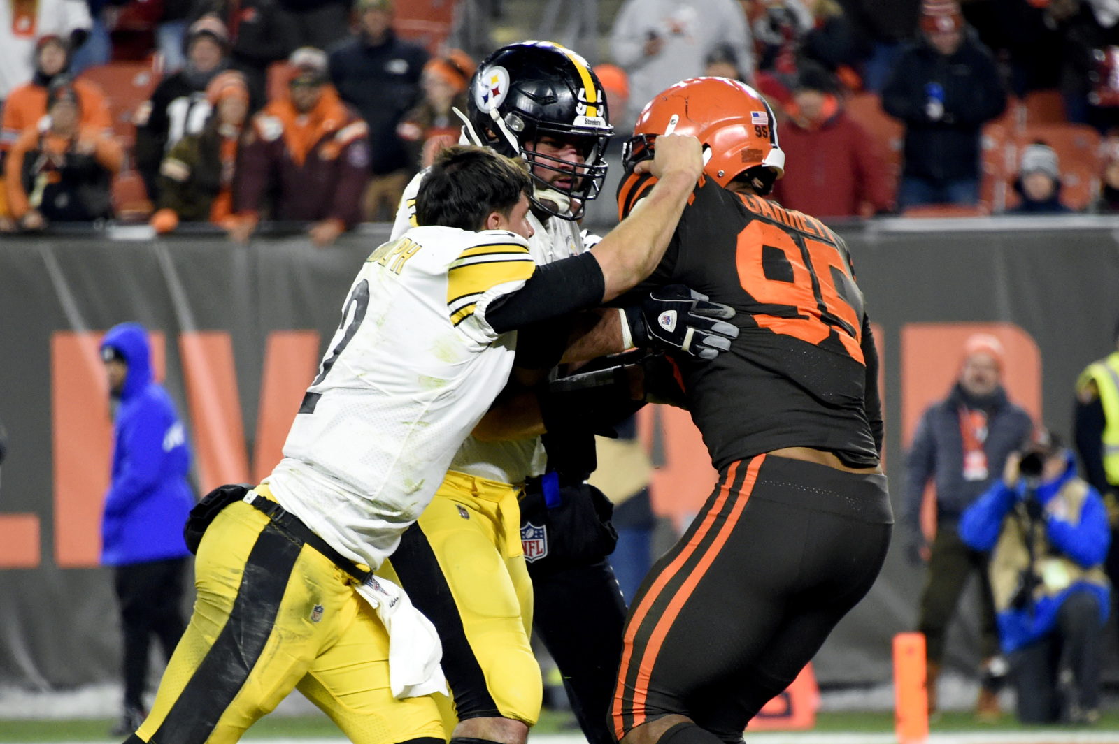 Cleveland Browns News Steelers Say They Take Some Blame For