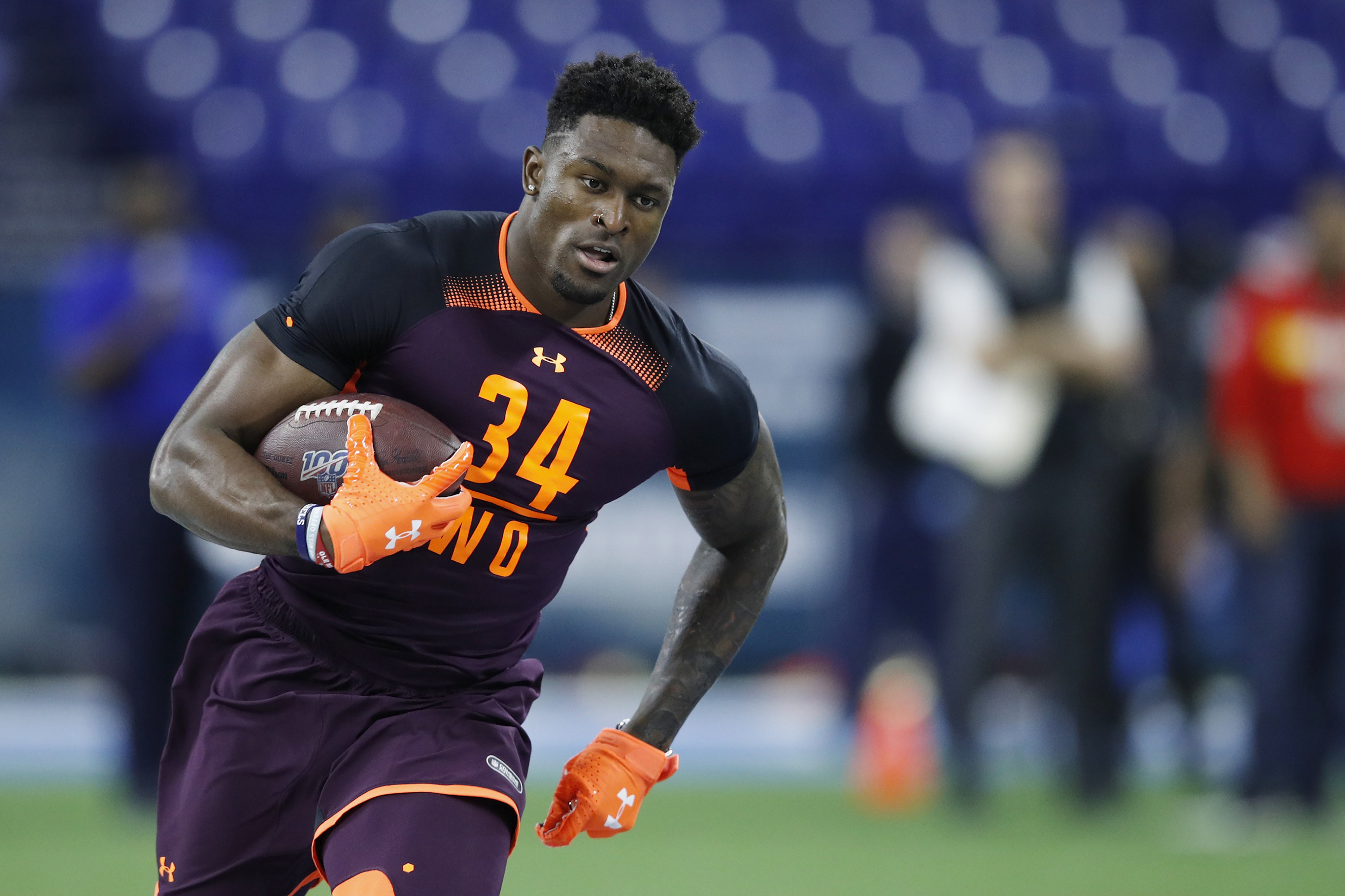 Clevelandbrowns D K Metcalf Would Like To Play With Baker Mayfield