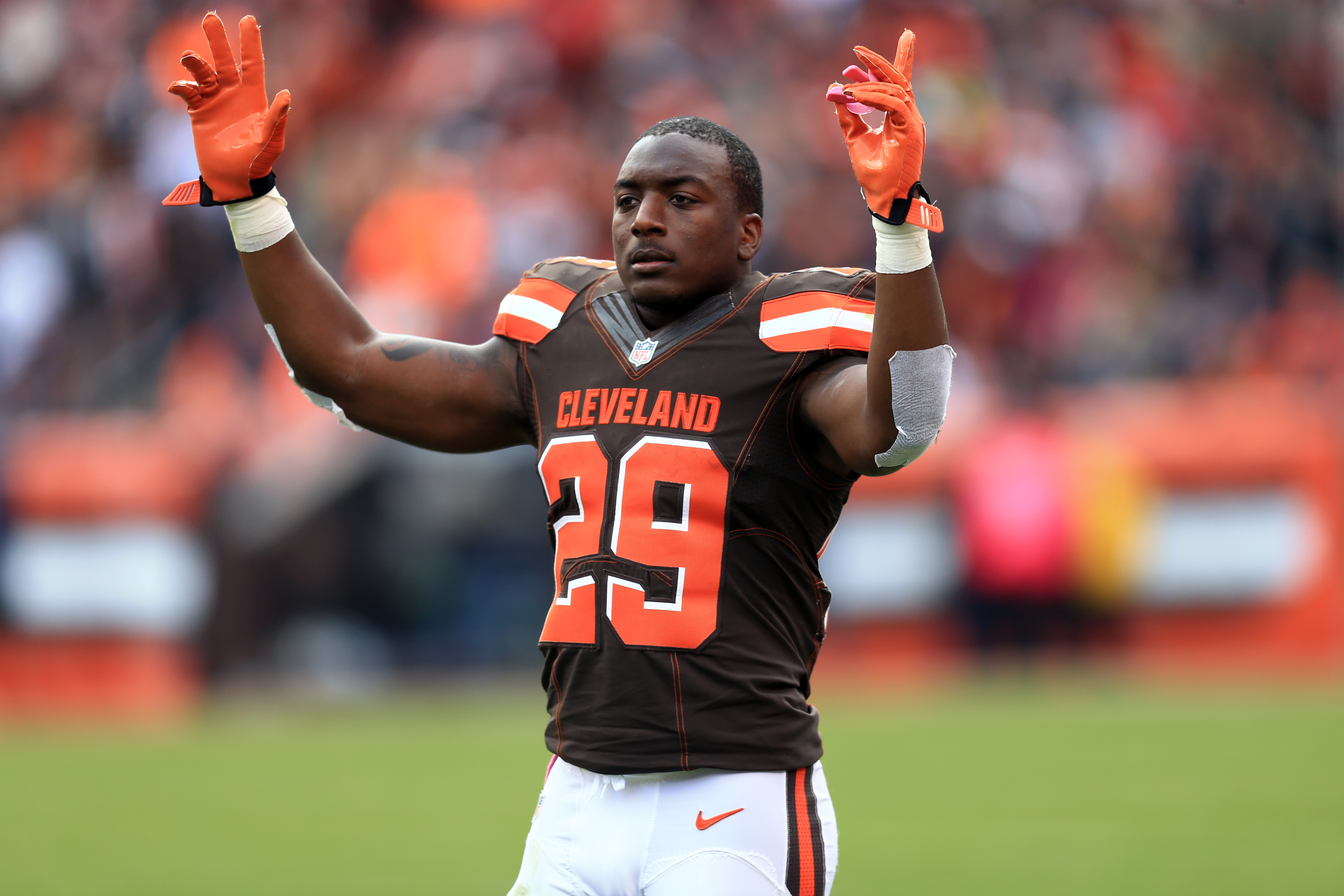 Duke Johnson's days with the Cleveland Browns 'have been numbered'