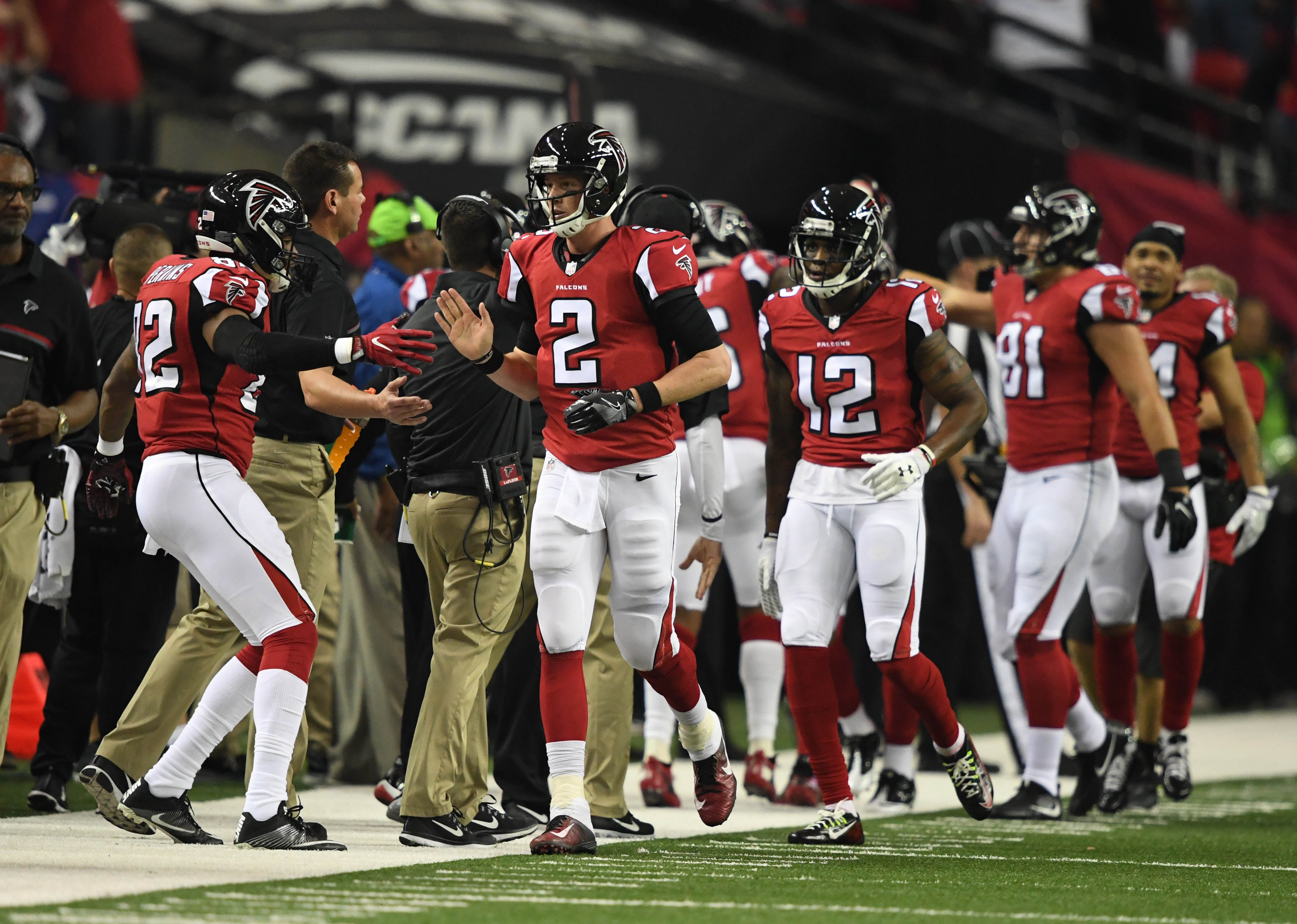 Cleveland browns building in the mold of the atlanta falcons nfl nfc divisional seattle seahawks at atlanta falcons voltagebd Choice Image